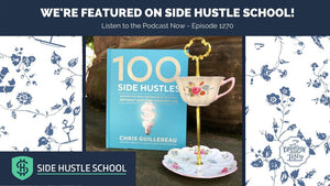 The Brooklyn Teacup is featured on Side Hustle School: Episode 1270