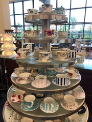 lots of teacup tiered from replacements.com