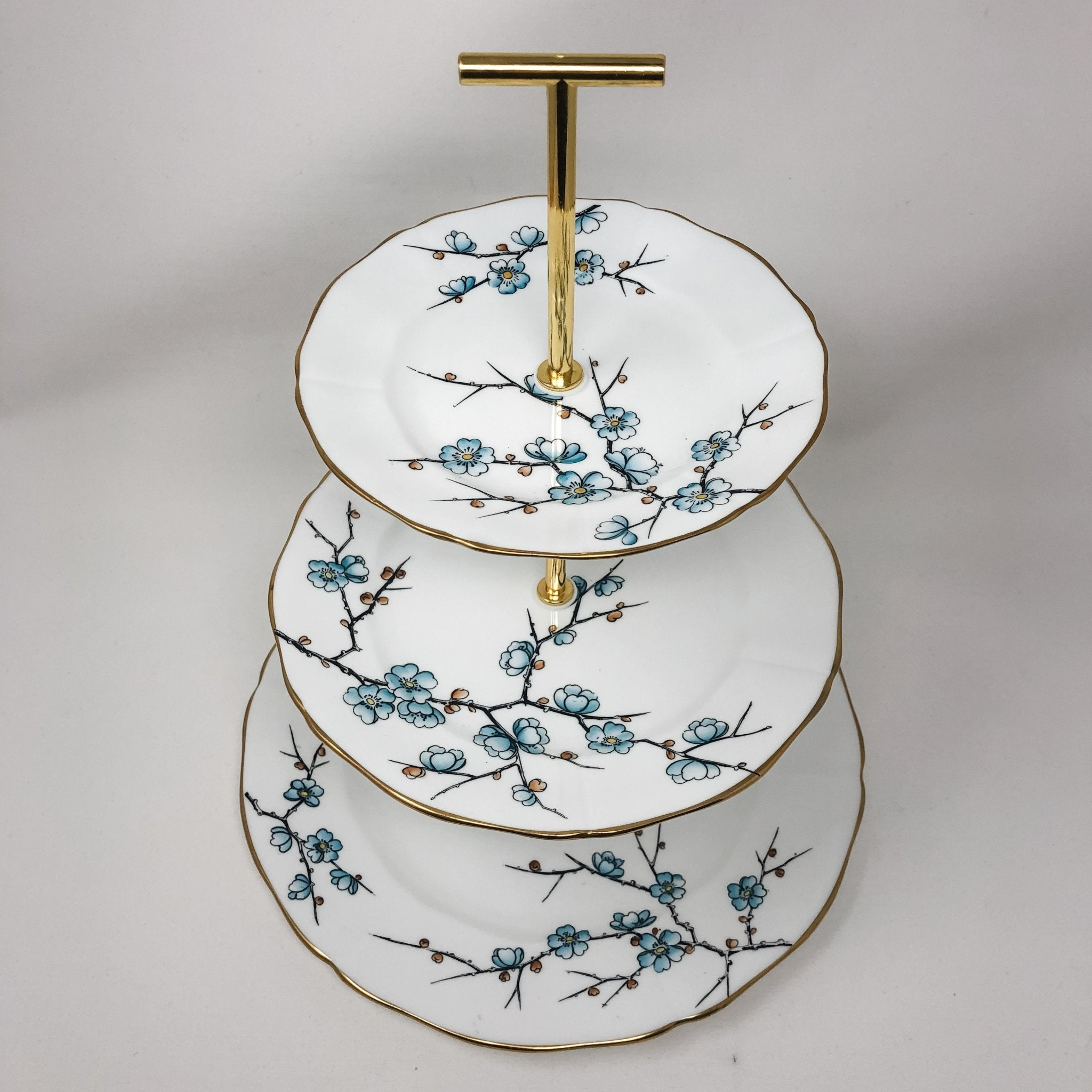 Adderley Chinese Blossom | 3-Tier | Adderley - The Brooklyn Teacup