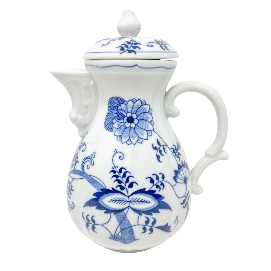 Blue Danube Japan | Coffee Pot | Royal Doulton - The Brooklyn Teacup