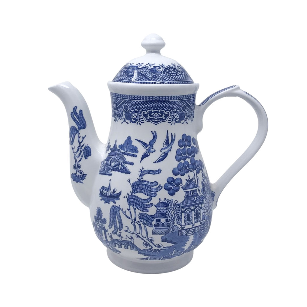 Churchill Blue Willow | Coffee Pot | Churchill - The Brooklyn Teacup