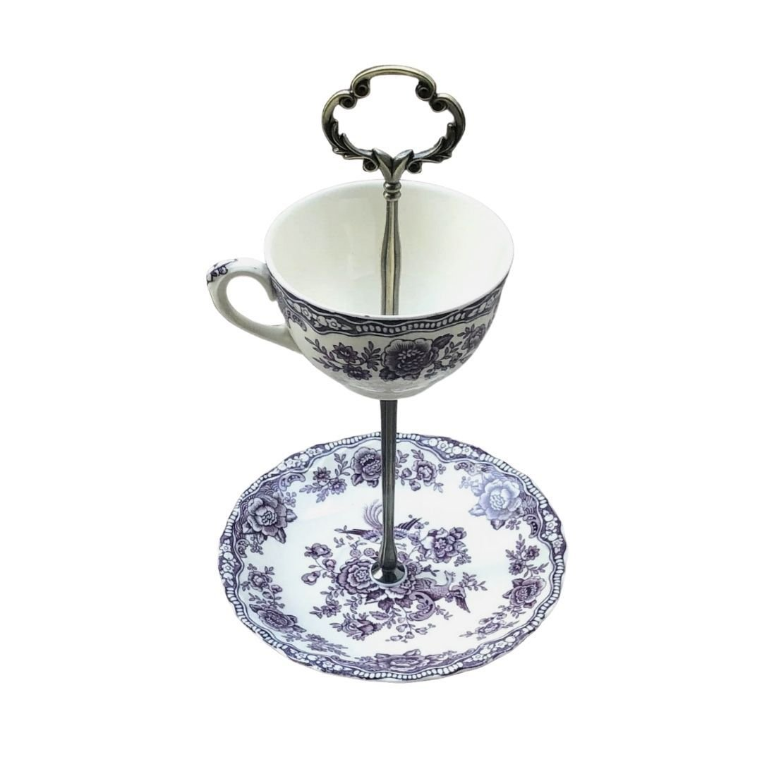 Crown Ducal Bristol | Teacup & Saucer Stand | Crown Ducal - The Brooklyn Teacup