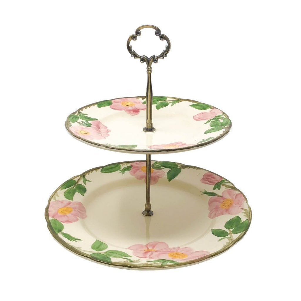 Franciscan Desert Rose | 2-Tier | Franciscan - The Brooklyn Teacup