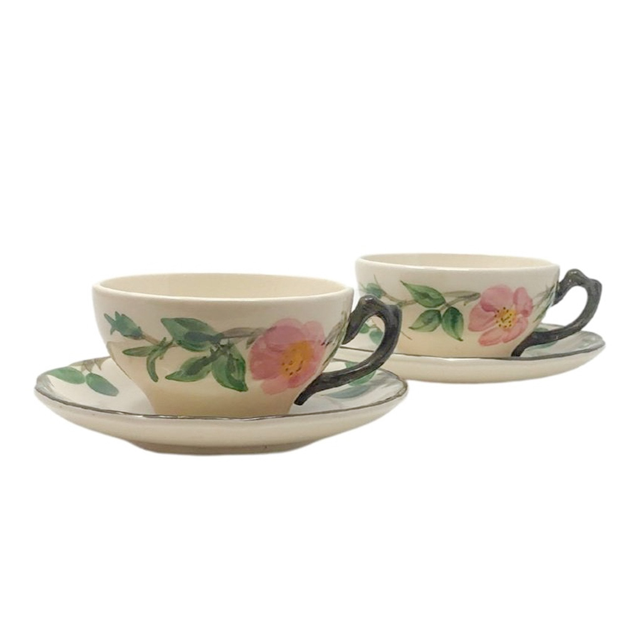 Franciscan Desert Rose | Teacup & Saucer Set (of 2) | Franciscan - The Brooklyn Teacup