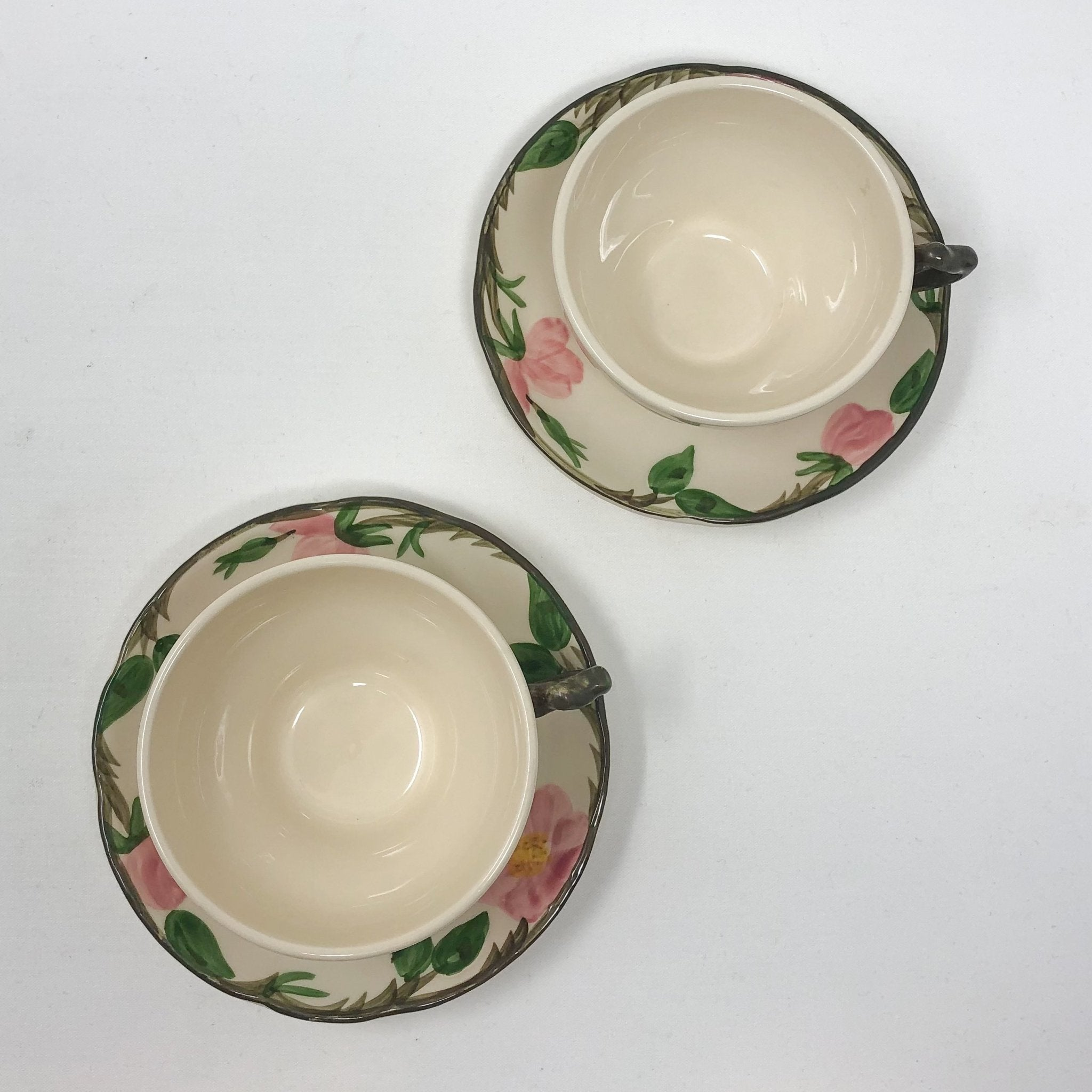 Franciscan Desert Rose | Teacup & Saucer (Set of 2) | Franciscan - The Brooklyn Teacup