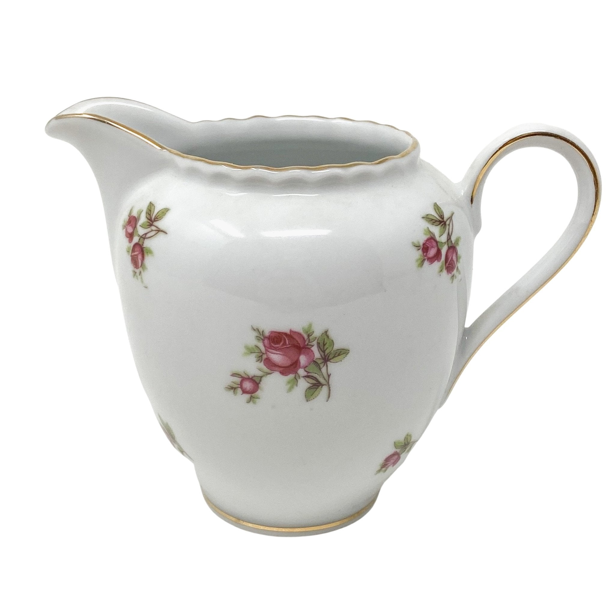 HMS Royal Hanover Pink Rose | Creamer | HMS Royal Hanover - The Brooklyn Teacup