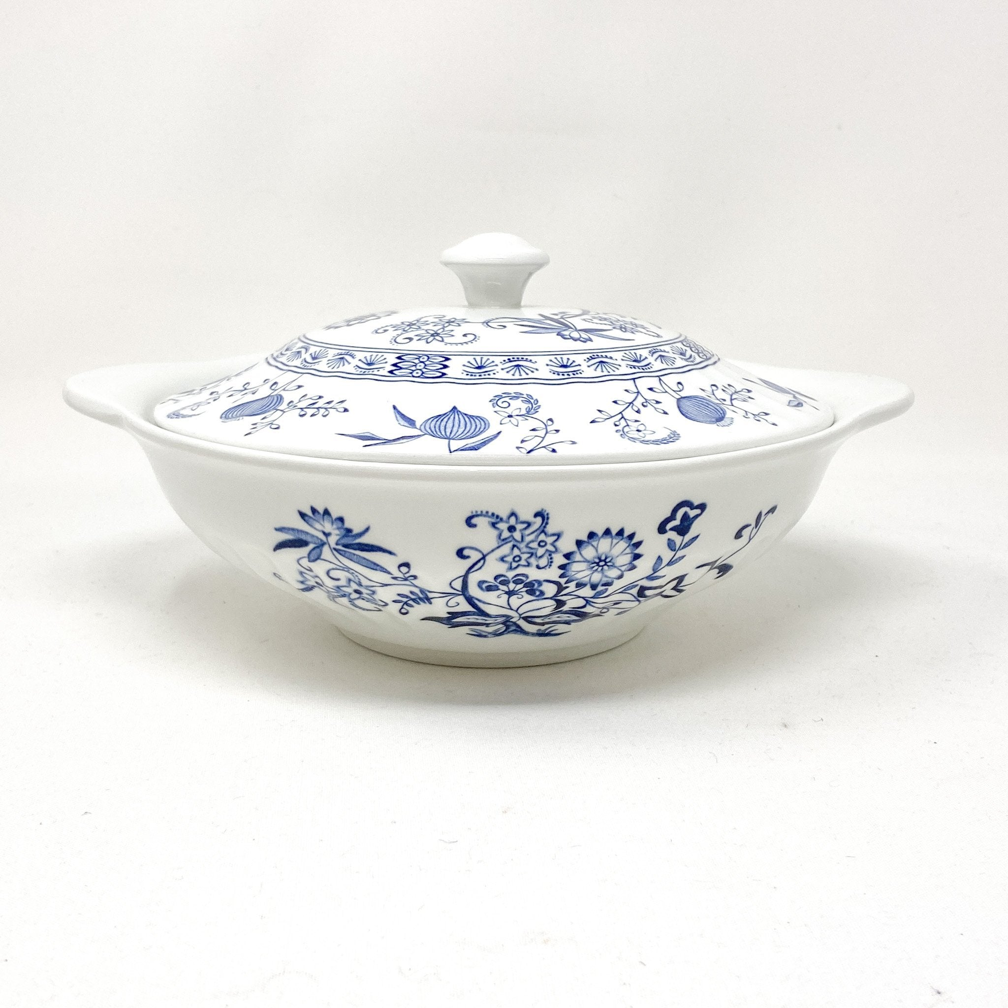Signature Blue & White Casserole Dish | The Brooklyn Teacup - for large meals and gatherings with family and friends