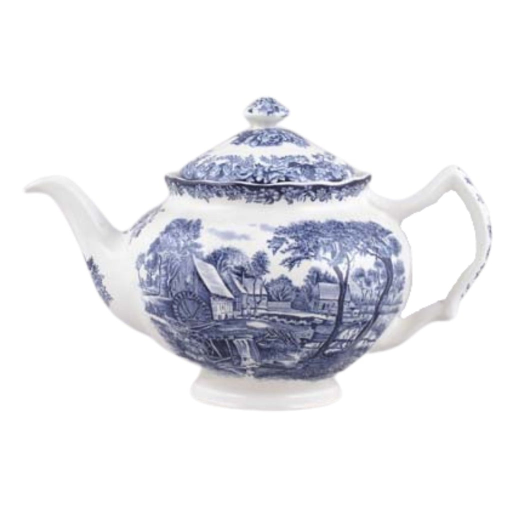Johnson Brothers Mill Stream | Teapot | Johnson Bros - The Brooklyn Teacup