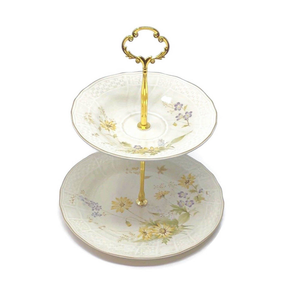 Mikasa Spring Meadow | 2-Tier | Mikasa - The Brooklyn Teacup