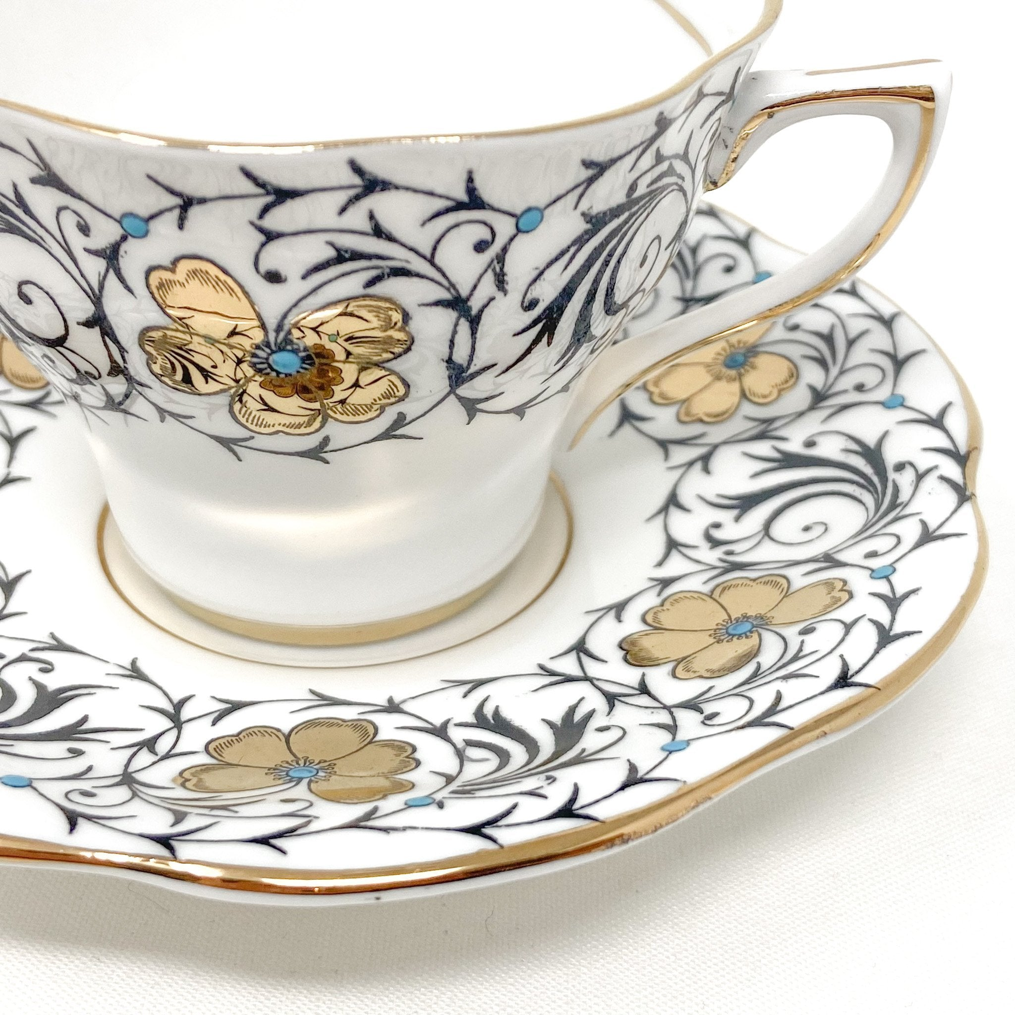 Rosina Bramble | Teacup & Saucer | Rosina - The Brooklyn Teacup