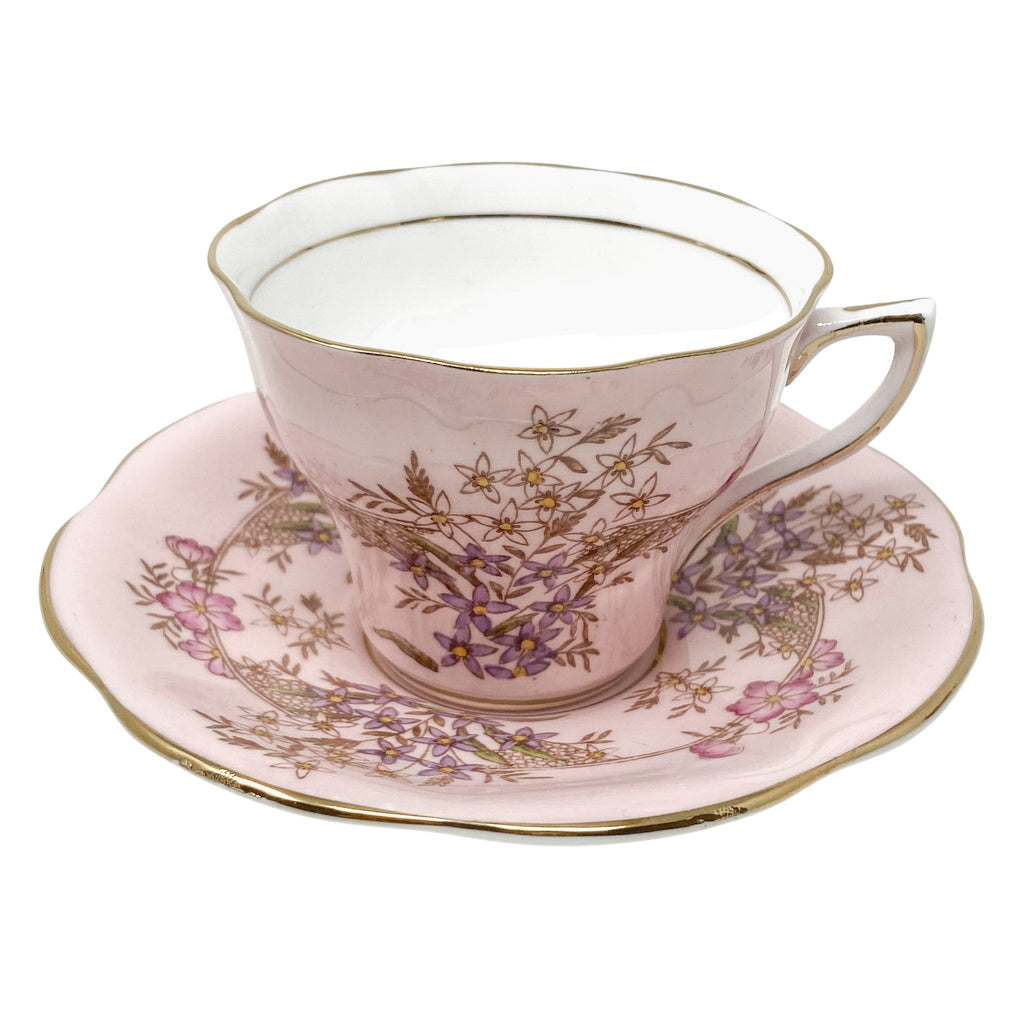 Rosina Pink Lady | Teacup & Saucer | Rosina - The Brooklyn Teacup