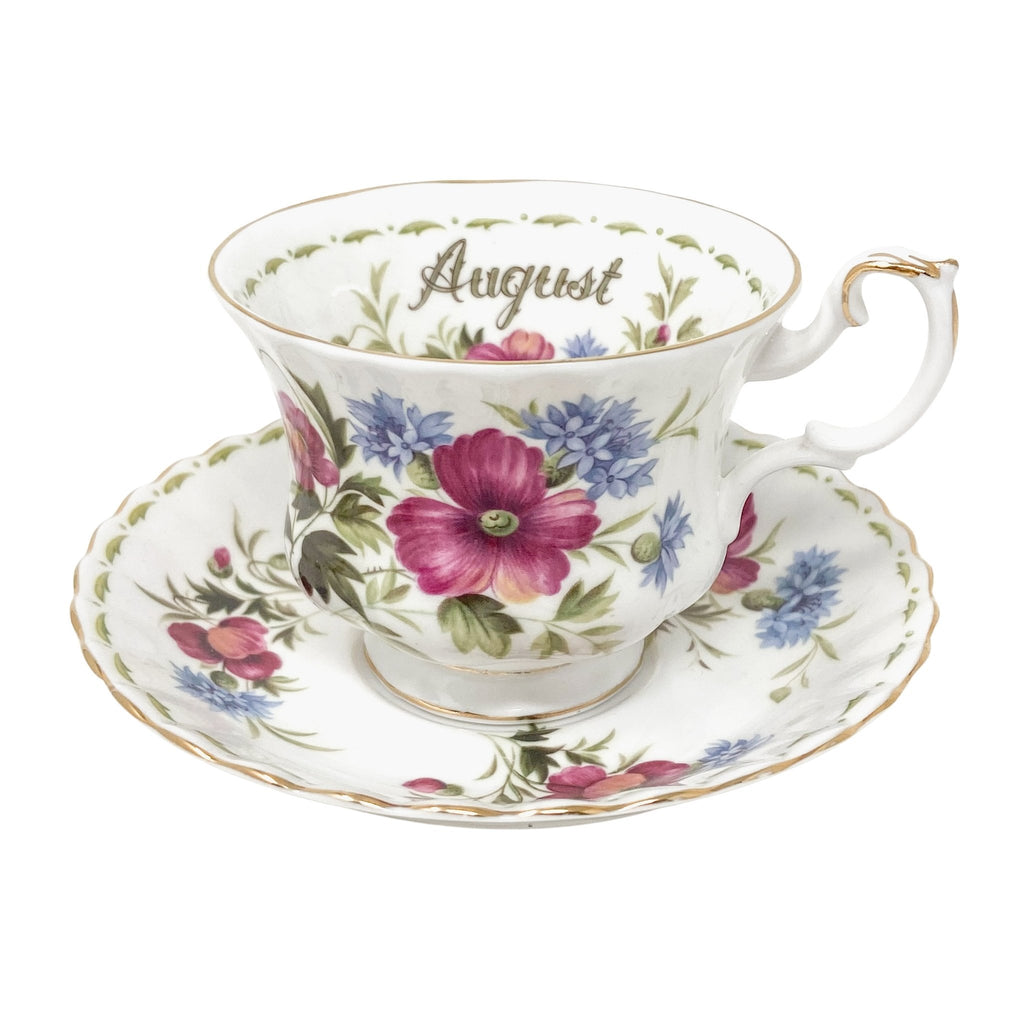 Royal Albert Poppy | Teacup & Saucer | Royal Albert - The Brooklyn Teacup