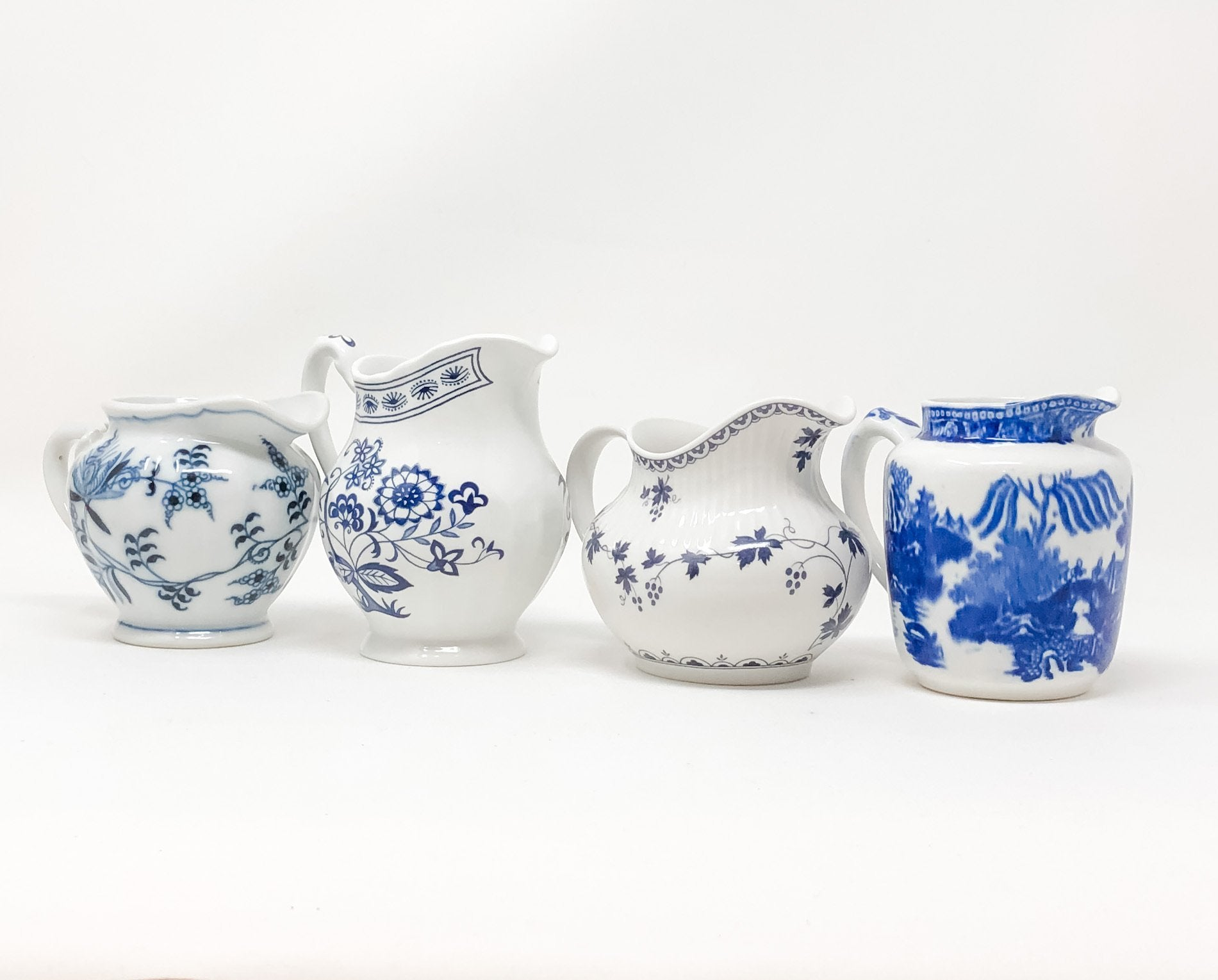 Signature Blue & White | Sugar & Creamer Set | Assorted - The Brooklyn Teacup