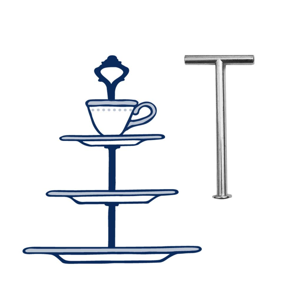 Upcycle 3-Tier w/Teacup | The Brooklyn Teacup - The Brooklyn Teacup