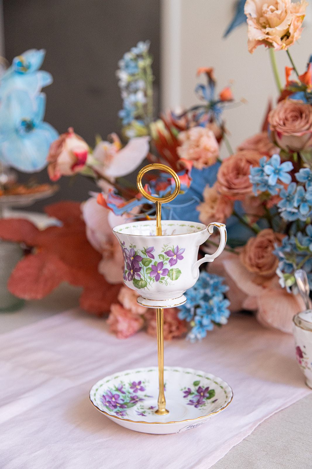 Upcycle Teacup & Saucer | The Brooklyn Teacup - The Brooklyn Teacup