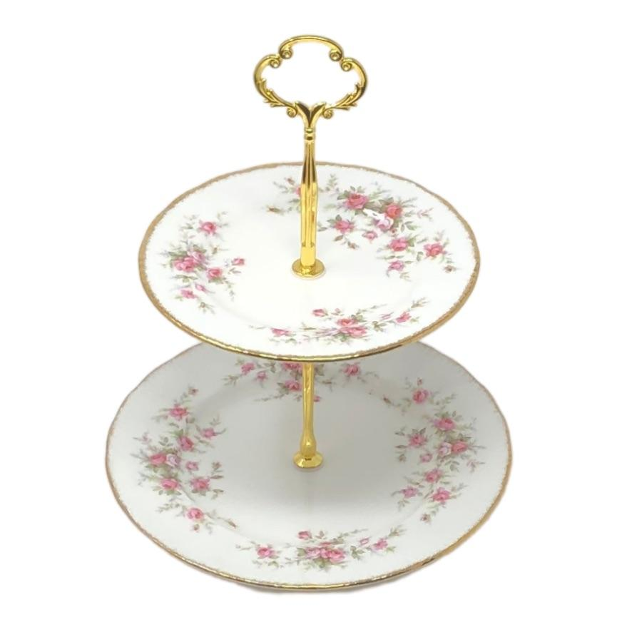 Victoriana Paragon | 2-Tier (petite) | Victoriana - The Brooklyn Teacup