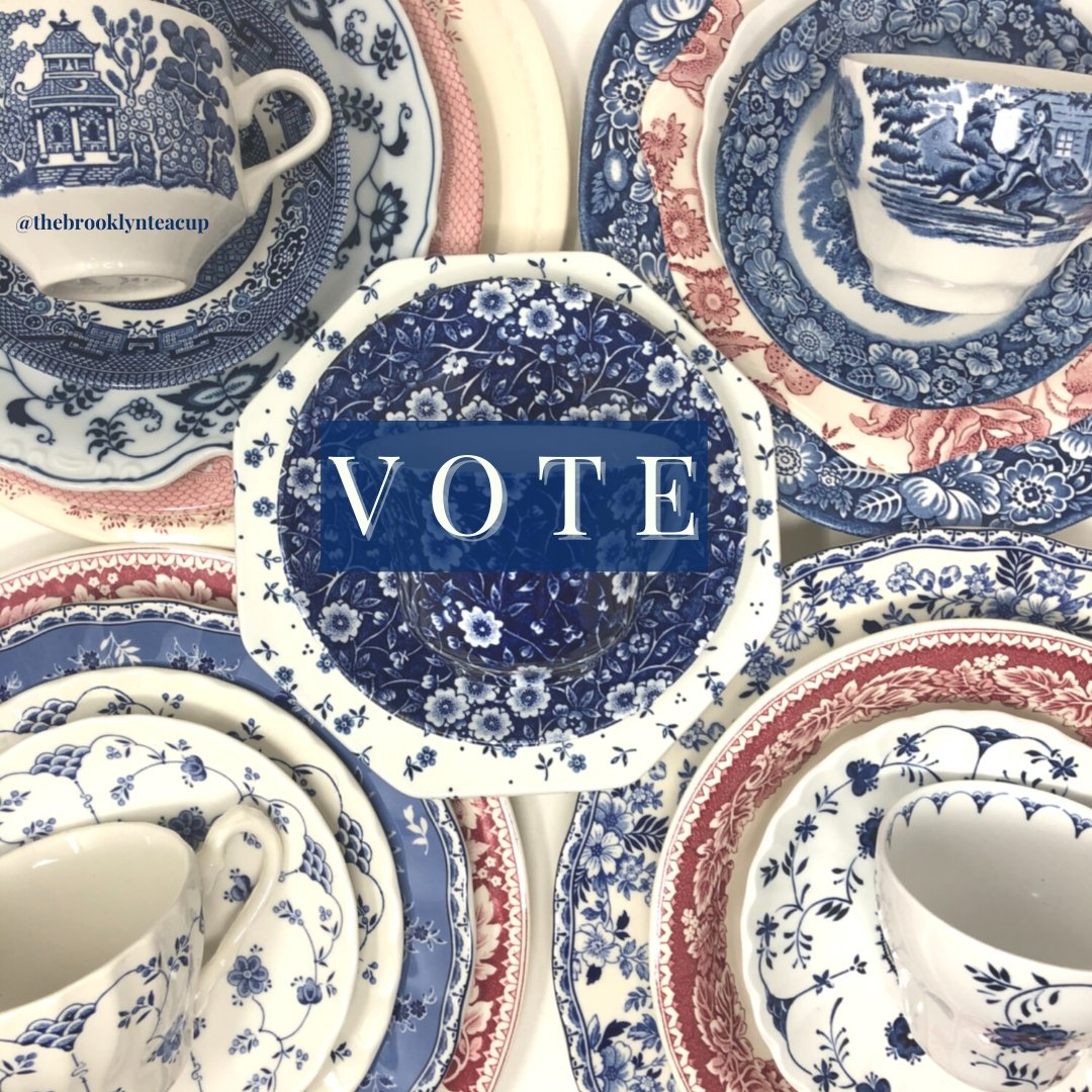 VOTE Red, White & Blue: 3-Tier | The Brooklyn Teacup - The Brooklyn Teacup