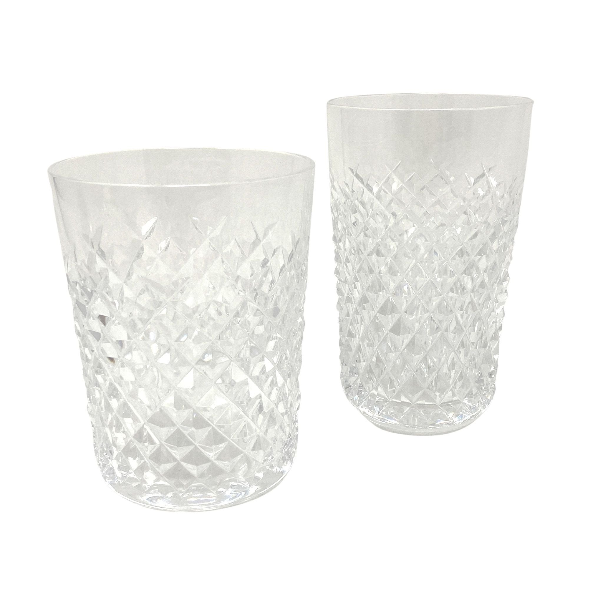 Vintage Waterford Faceted Crystal Tumblers available in two sizes | The Brooklyn Teacup