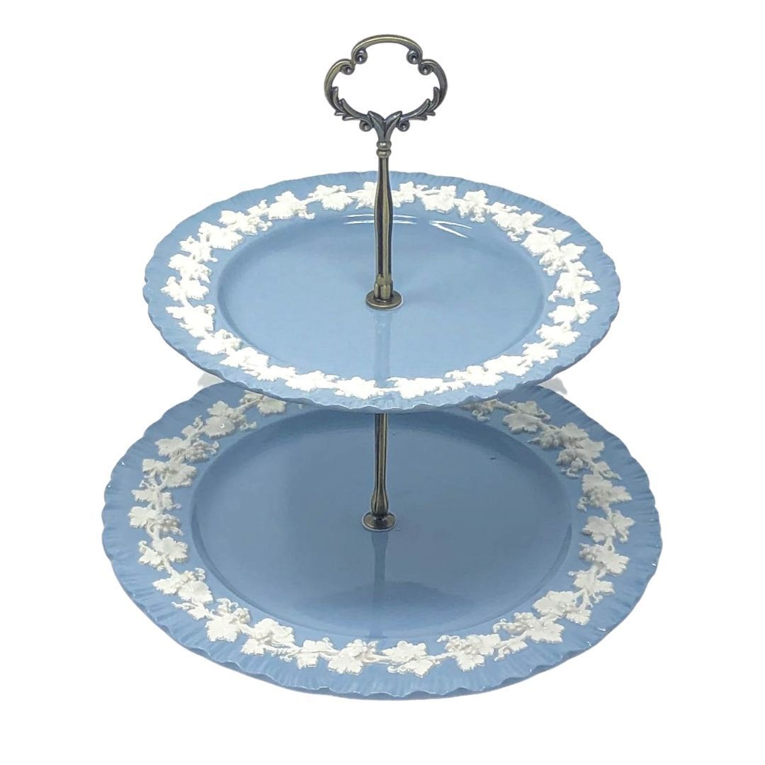 Wedgwood Etruria Barlaston Queensware | 2-Tier | Wedgwood - The Brooklyn Teacup