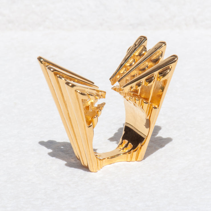 Decadent Ring - 22ct Gold Vermeil