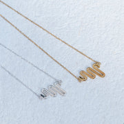 Electric Path Necklace - 22ct Gold Vermeil