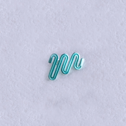 Electric Path Earrings - Aqua