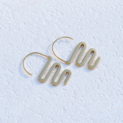Love Hangover Earrings - 22ct Gold Vermeil