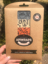 "APIWRAPS Reusable Beeswax Wrap - ""Kitchen Basics"""
