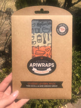 "APIWRAPS Reusable Beeswax Wrap - ""Cheese Lovers"""