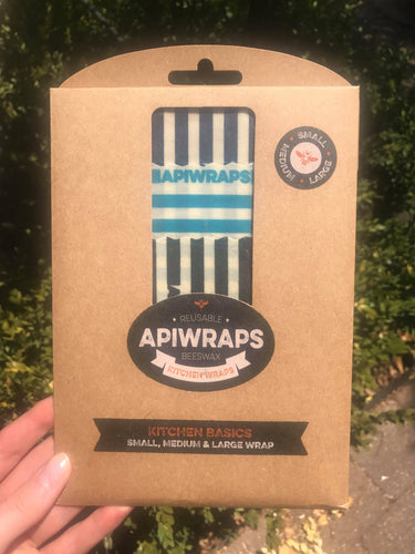 APIWRAPS Reusable Beeswax Wrap -