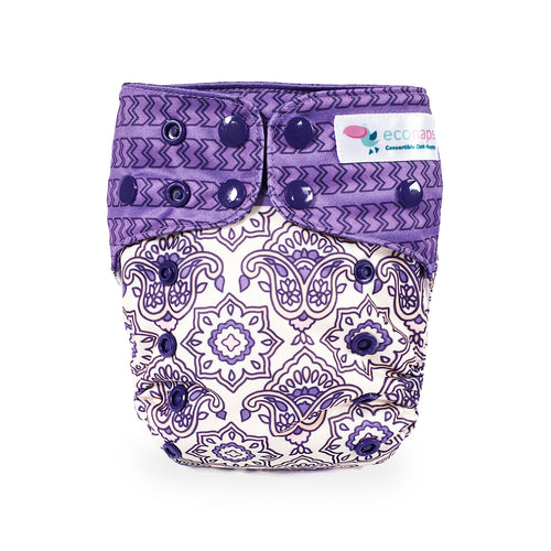 Eco Naps OSFM Cloth Nappy - Indian Rose