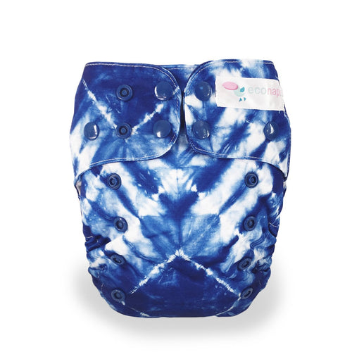 Eco Naps OSFM Cloth Nappy - Tie Dye