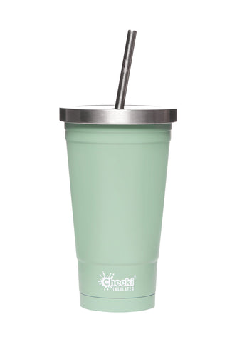 Cheeki 500ml Insulated Tumbler - Pistachio