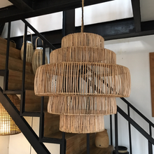 Load image into Gallery viewer, Ubud Natural Rattan Pendant Light