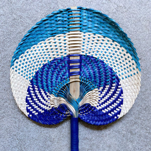 Daun Natural Boho Decorative Fan