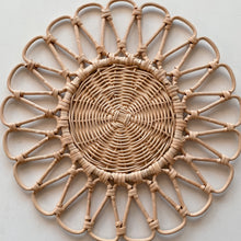 Load image into Gallery viewer, Bunga Boho Rattan Placemats & Coasters (PRE-ORDER)