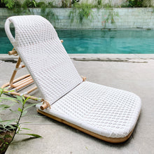 Load image into Gallery viewer, Jekumah Folding Rattan Beach Chair (PRE-ORDER)