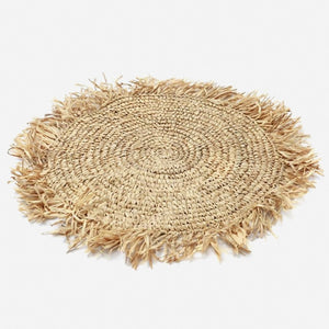 Savanna Natural Raffia Boho Placemats