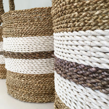 Load image into Gallery viewer, Set of 3 Taka Handwoven Basket