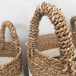 Set of 3 Taka Handwoven Basket