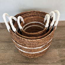 Load image into Gallery viewer, Hola Handwoven Basket