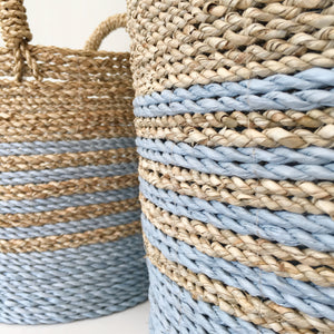 Set of 3 Mallow Handwoven Basket