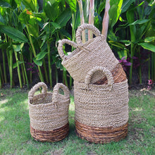 Load image into Gallery viewer, Set of 3 Berawa Handwoven Basket