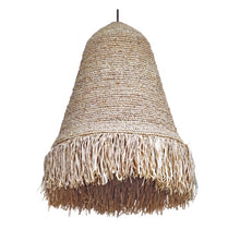 Load image into Gallery viewer, Fringe Natural Woven Raffia Pendant Light (PRE-ORDER)