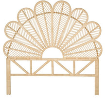 Load image into Gallery viewer, Chrissy Rattan Headboard (PRE-ORDER)