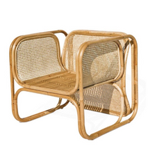 Load image into Gallery viewer, Kata Rattan & Cane Lounge Chair (PRE-ORDER)