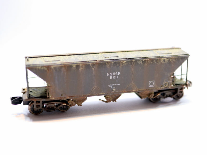 Examples of beautifully weathered rolling stock