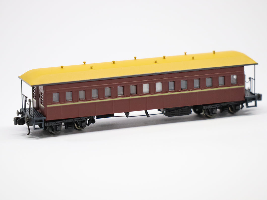 FO Indian Red Interurban Mansard Roof Late Version 2-pack