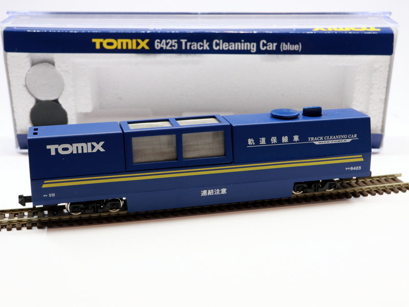 Tomix track cleaning car