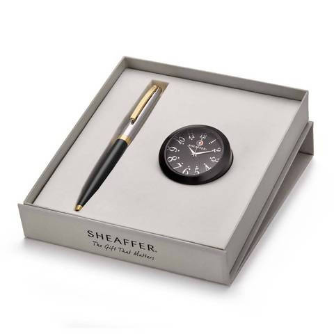 pen and table clock gift combos for boss, colleague farewell, employees